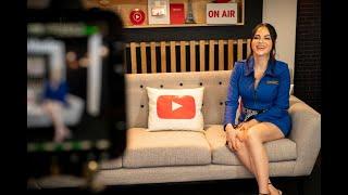 Natti Natasha - YouTube Music en Mexico [Entrevista 2019]