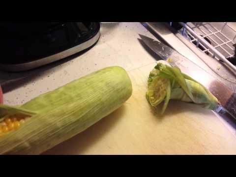 Microwave Corn on the Cob Part 2 070914