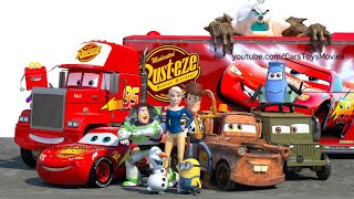 """ICE CARS 3 """" Frozen MATER Movie """"FULL Featured Short Film"""" Disney Pixar COMPLETE Animated 34 MIN"""