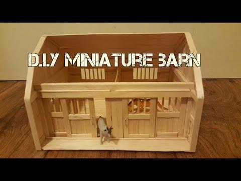 DIY Miniature Barn