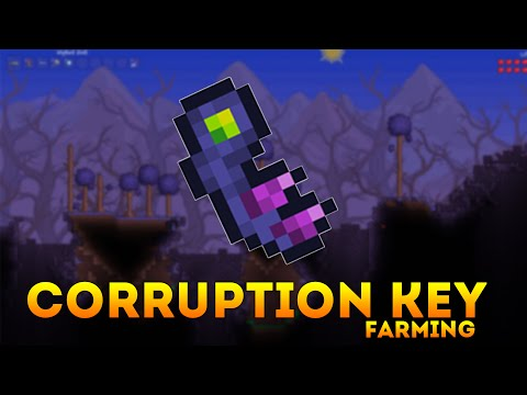 Terraria How To Farm the Corruption Key Mold in Under an Hour