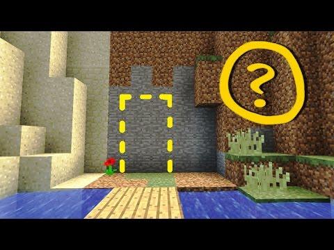 Minecraft: Cool Secret Door / Base Tutorial #1 - How to Make a Hidden House