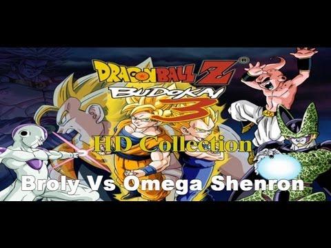 Dragon Ball Z Budokai 3 HD collection - Broly Vs Omega Shenron