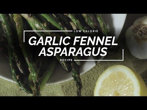 Garlic Fennel Asparagus | Easy Cast Iron Recipe