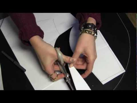 How to make a peplum shirt; Part 1- Pattern making (difficult)