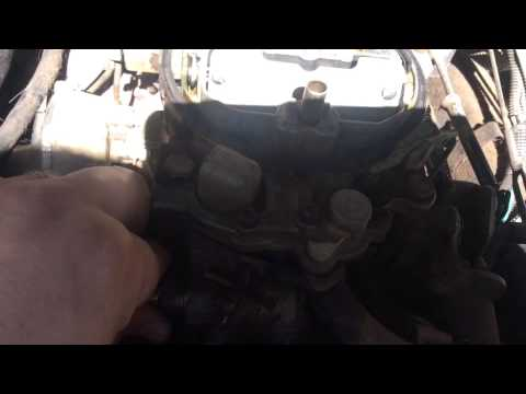 Chevy/gmc carburetor fuel filter replacement