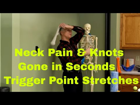 Neck Pain & Knots Gone in Seconds with Trigger Point Stretches & Posture Changes.