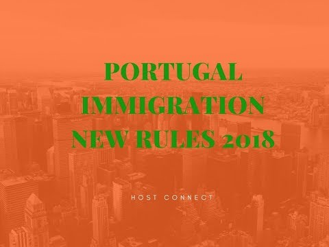 Portugal residence card/  SEF entry new rules 2018 Urdu-Hindi