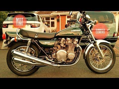 Kawasaki z900 MOT Day