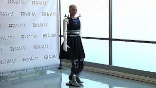 Human-like robot Sophia