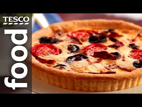 How to Make English Breakfast Quiche | Tesco Food