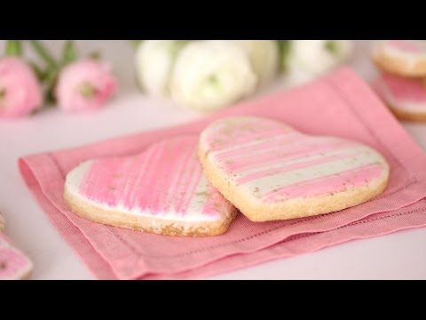 Iced Sugar-Cookie Hearts- Sweet Talk with Lindsay Strand