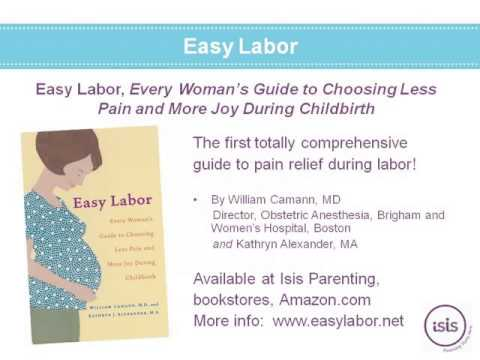 Pain Relief Options for Labor and Birth | Isis Parenting