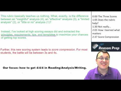 Crack the NEW  2016 SAT essay in 5 minutes!