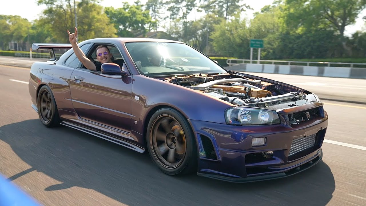 R34 GTR Hits the STREETS!