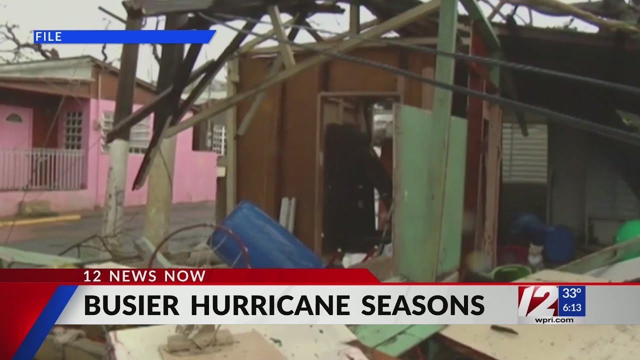New data reveals hurricane seasons are getting busier