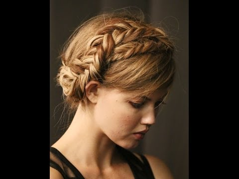 How To Make Waterfall Braid Hairstyle Dailymotion