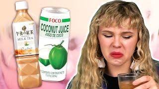 Irish People Try Asia Drinks