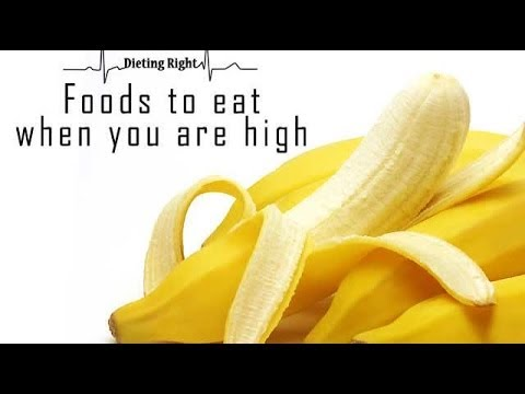 Foods to eat when you are high