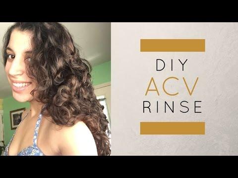 Apple Cider Vinegar Hair Tutorial | DIY Rinse
