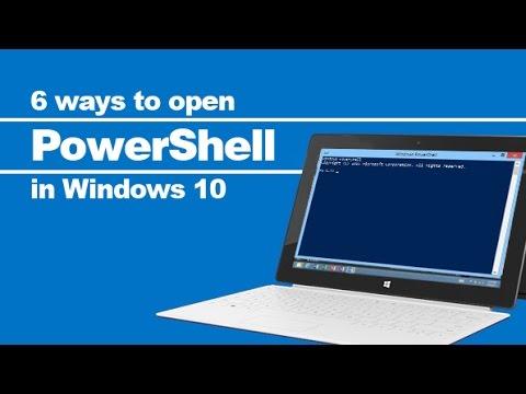6 ways to open PowerShell in Windows 10