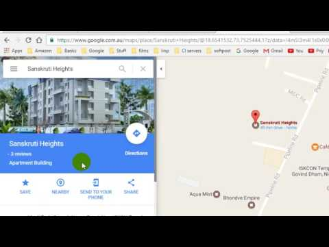 How to edit a location or place in Google maps