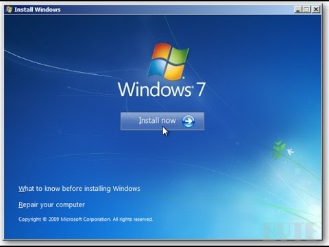 HOW TO FORMAT COMPUTER AND INSTALL WINDOWS 7 IN HINDI | Step  By Step