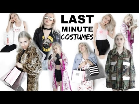 17 LAST MINUTE HALLOWEEN COSTUME IDEAS | Easy & Fast!