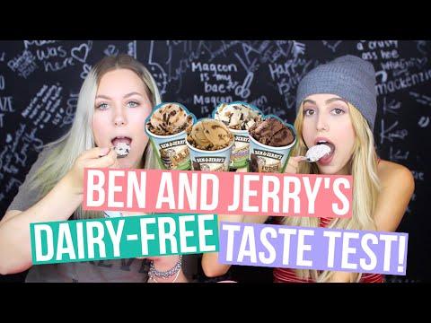 BEN AND JERRY'S VEGAN ICE CREAM TASTE TEST