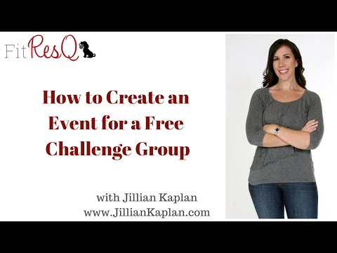 How to Create an Event for a Free Group