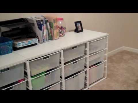 Organizing with a favorite: Elfa shelves