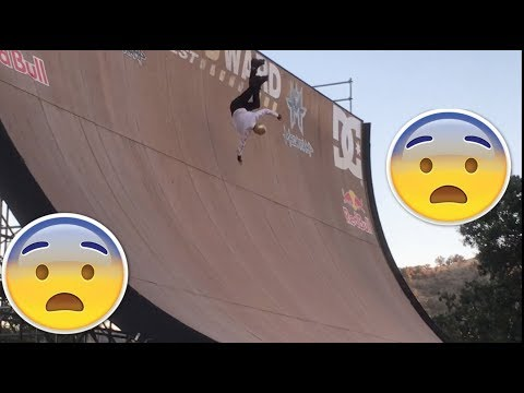 INSANE MEGA RAMP FAILS (WOODWARD SKATE MOVIE PART 1)