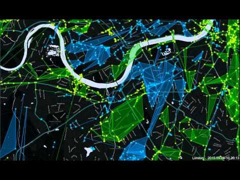 Ingress London 24hr time lapse   06 09 2015