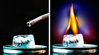 ICE experiments    Breathtaking science experiments by 5-minute MAGIC
