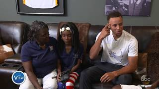 Tim Birckhead And Family Explore New Home, Surprise From Stephen Curry | The View