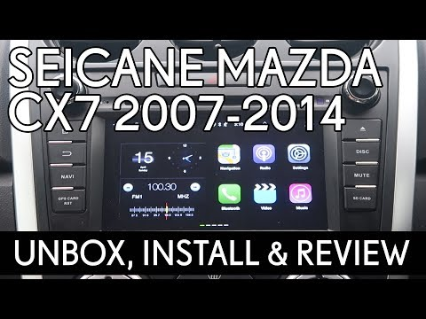 Seicane 2007- 2014 Mazda CX7 (Aftermarket Android Head Unit)