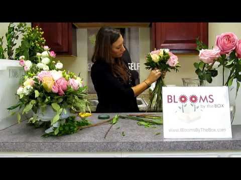 Make a Ranunculus, Hydrangea, and Garden Rose Bouquet