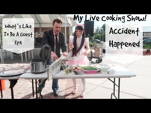 My Live Cooking Show! Accident Happened! Tigercon 2018!