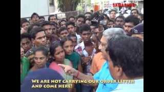 GOA CHIEF MINISTER WALKING INTO ANGRY MOB ON 29TH MAY