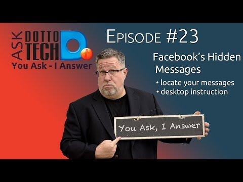 Facebooks Hidden Messages - ADT #23