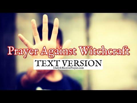 Prayer Against Witchcraft (Text Version - No Sound)