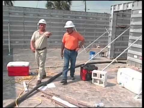 Building a Reinforced, Solid-Pour Concrete Wall