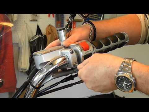 Installing Kuryakyn grips