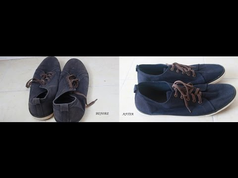 How To Dye Fabric or Canvas Shoes