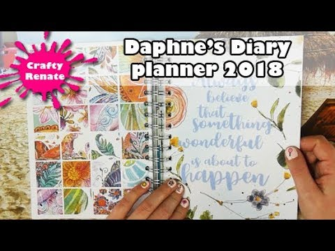 Daphne's diary planner 2018