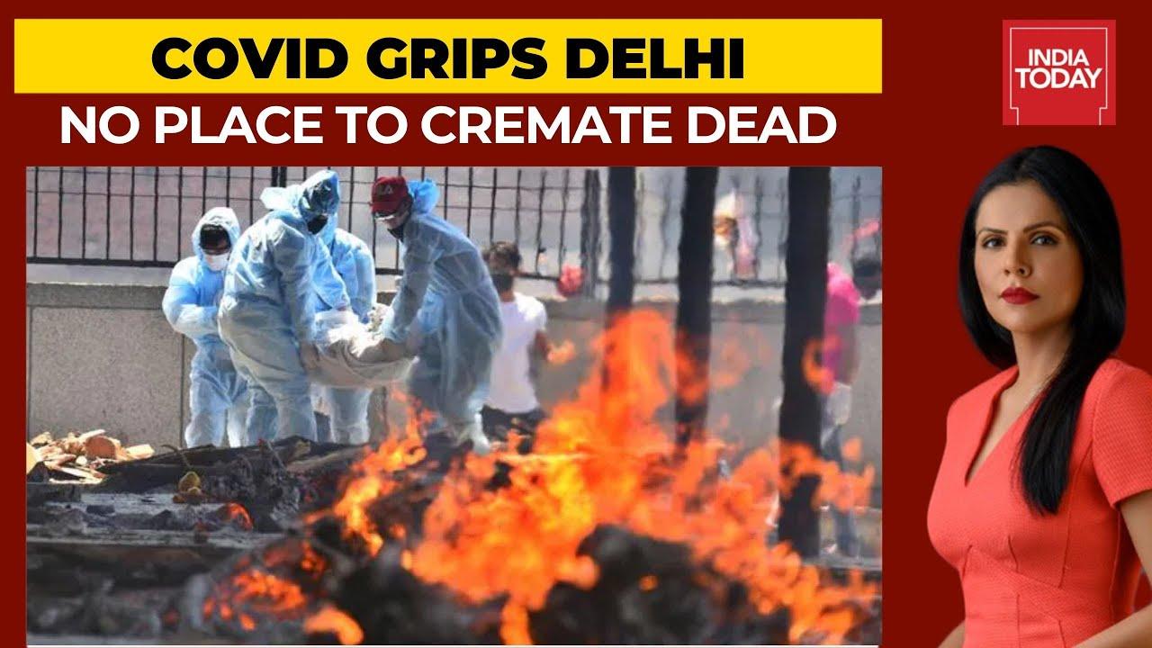 Covid19: No wood, No Place To Cremate Victims | Ground Report From Delhi's Seemapuri Crematorium