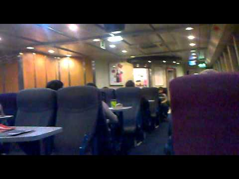 Condor Ferries rough crossing