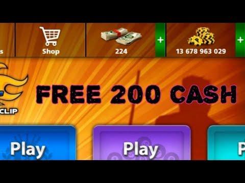 Free 200 Cash | Auto Win | Miniclip 8 Ball Pool