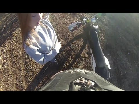 Learning how to ride a DirtBike (Girlfriend teaches me)