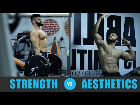 Why Strength & Aesthetics are INSEPARABLE   Powerlifting vs Bodybuilding
